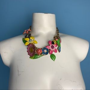 Floral Necklace | Betsey Johnson